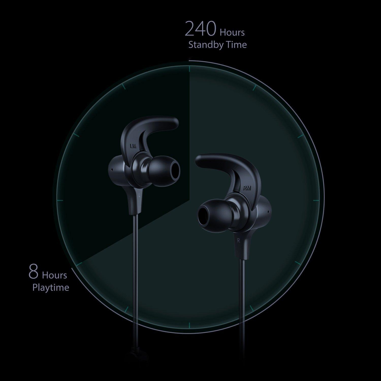 Des écouteurs intra-auriculaires avec une grosse autonomie