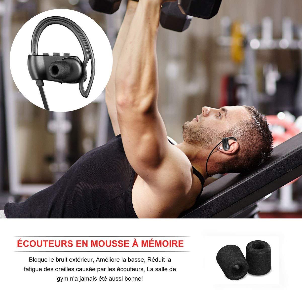 Écouteurs Bluetooth Sport Yobola Ultra-Longue