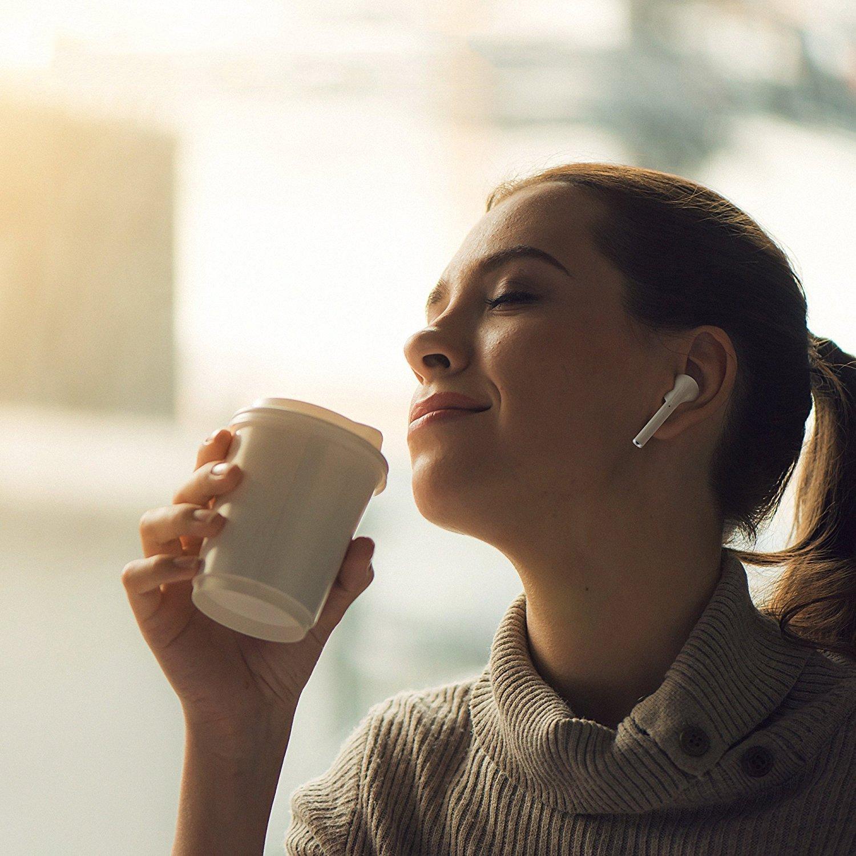 Les écouteurs Bluetooth sont simple à utiliser et confortables