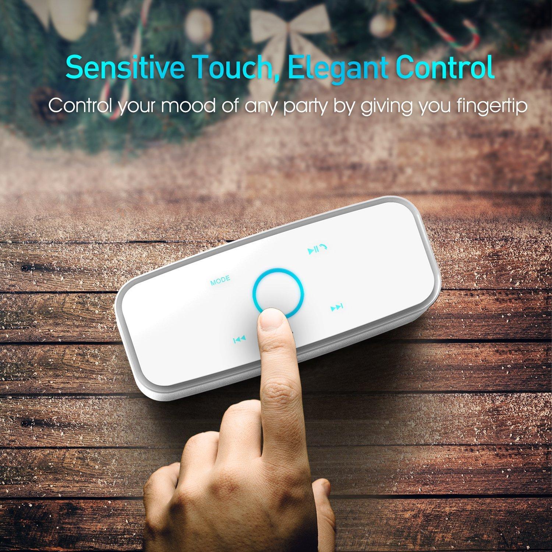 Une mini enceinte Bluetooth pratique à utiliser