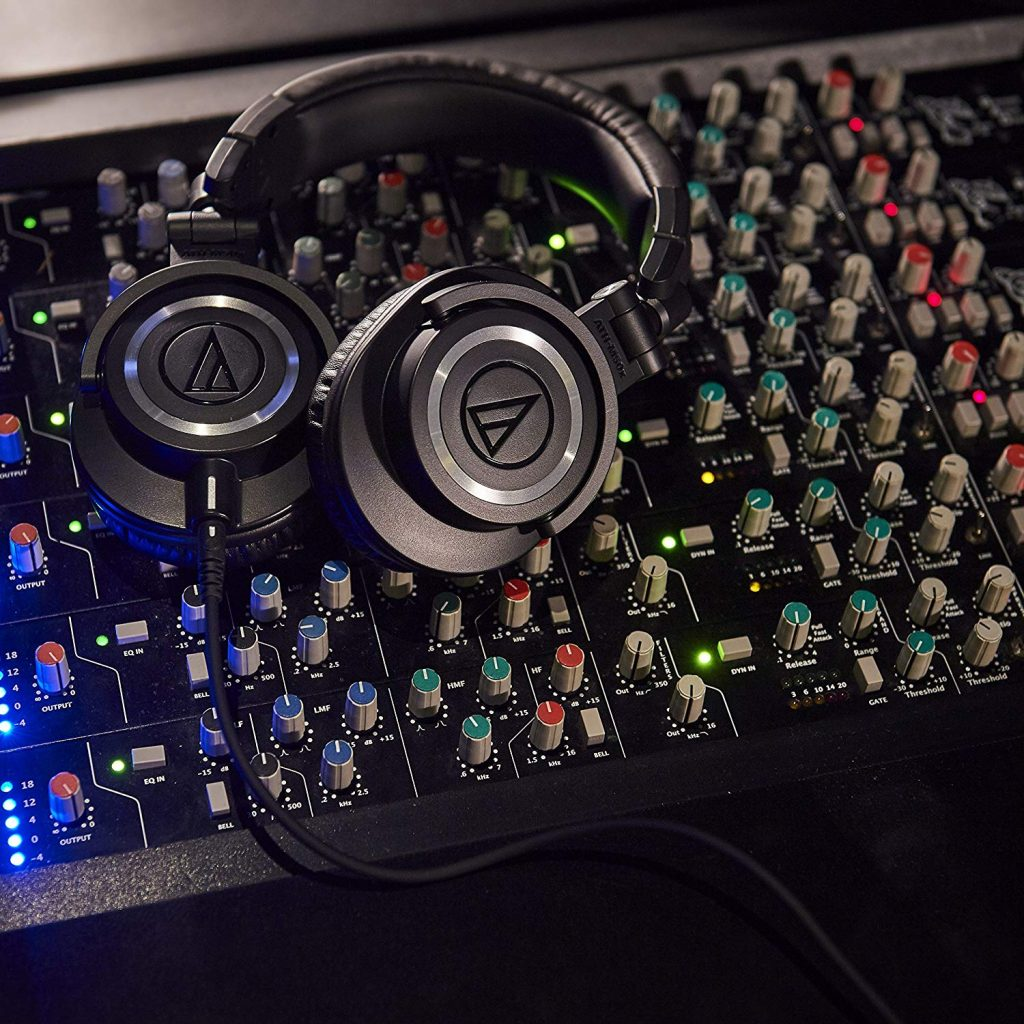 audio technica ATH M50X test